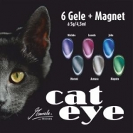 Cat Eye Gel Set 6 x 5g/ 4,5 ml,